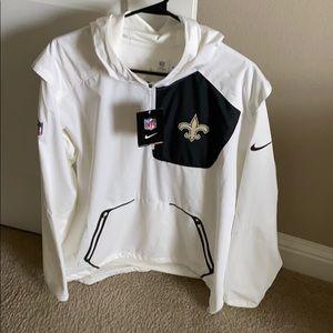Men's large Nike saints pullover